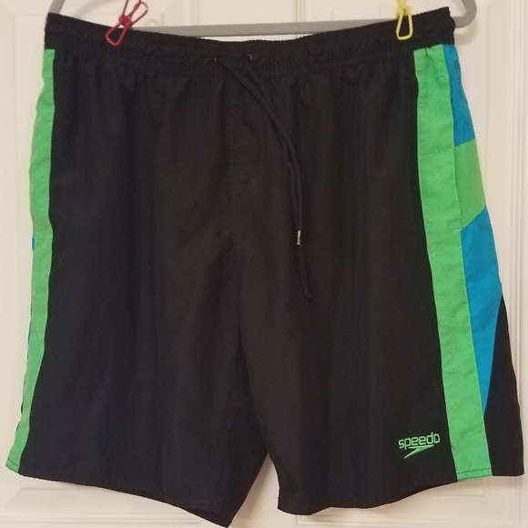 31c835a78f Speedo Swim   Logo Surf Trunks Board Shorts Xxl Euc   Poshmark